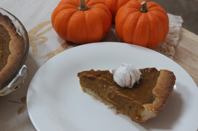 Pumpkin Pie (Gluten Free)