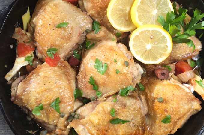 Guest Blog: Greek Skillet Chicken