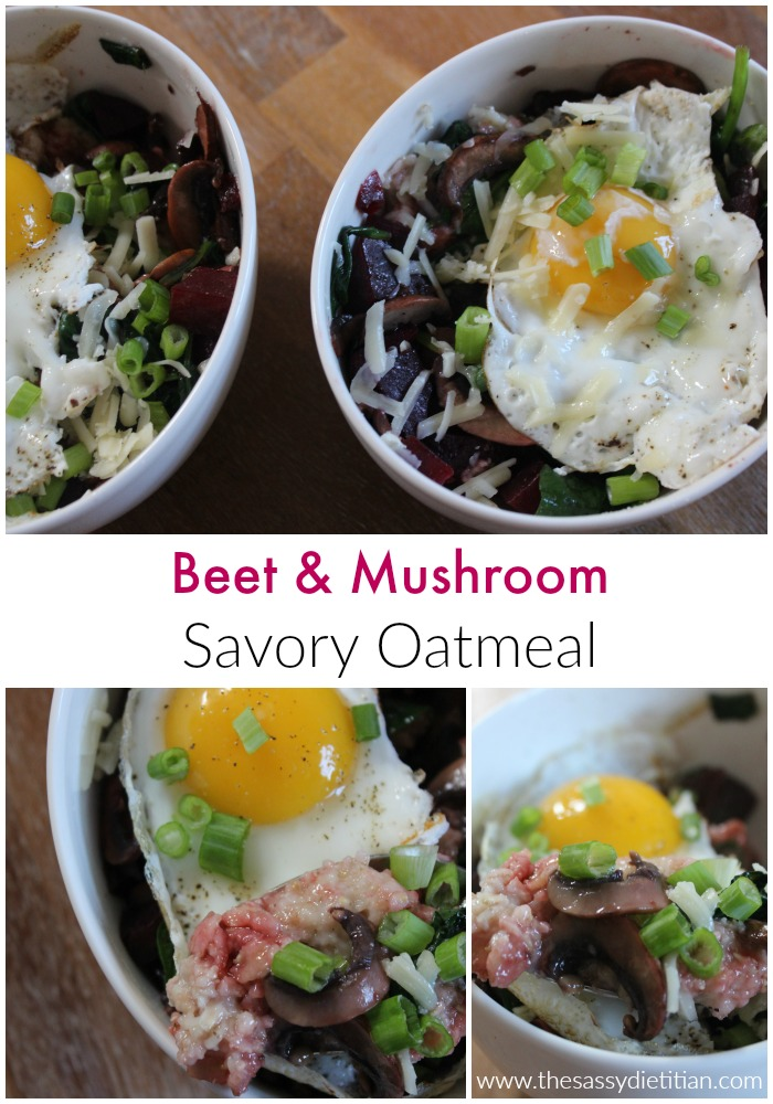 beet&mushroomsavoryoatmeal
