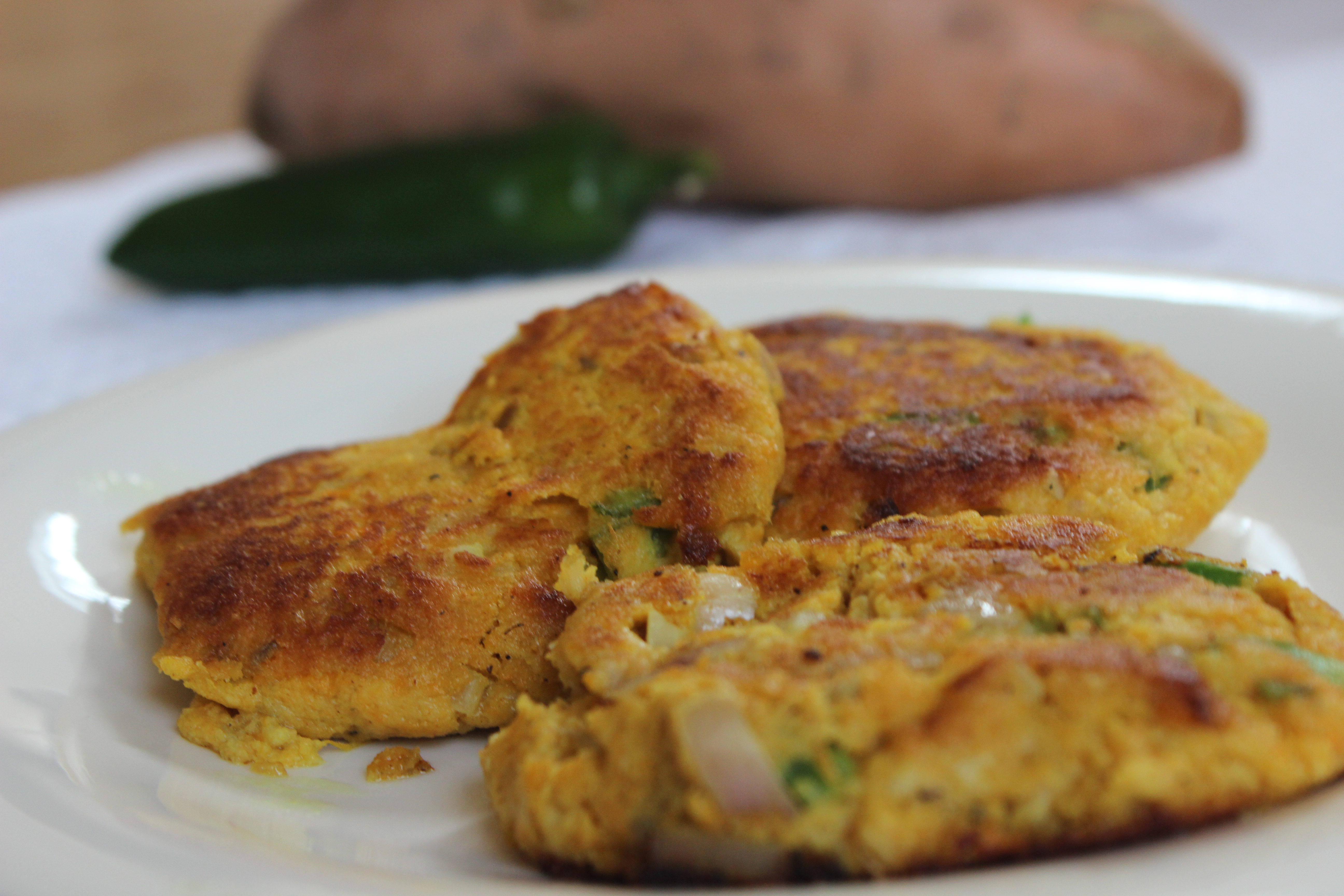 Gluten-Free Sweet Potato Salmon Cakes