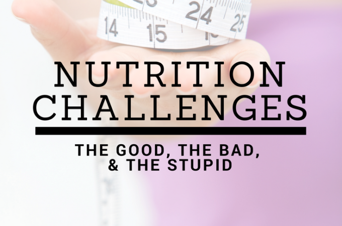 nutrition challenges